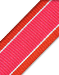 "Chica Headband (Orange Stripes 1"")"