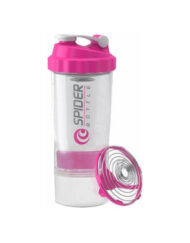 Spider Mini To Go Pink 500ml with Compartment