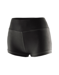 Women's Compression Yoga Shorts Space Grey