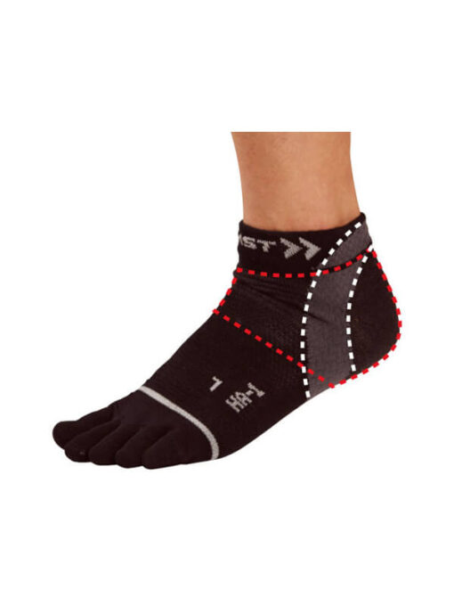 Zamst HA-1 Mesh 5-Finger Socks