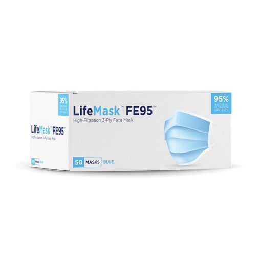 LifeMask FE95 High-Filtration 3-Ply Face Mask
