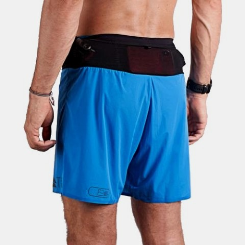 T8 Men's Blue Sherpa Shorts