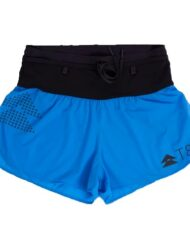 T8 Women's Blue Sherpa Shorts